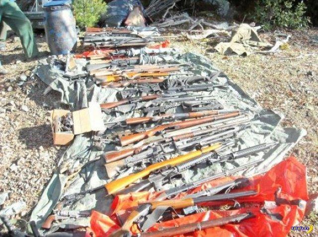Найден партизанский схрон в горах Калифорнии