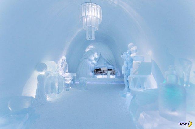 Самый большой ледовый отель в мире