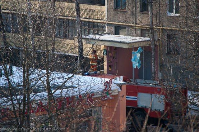 Горел дом на Плеханова 85