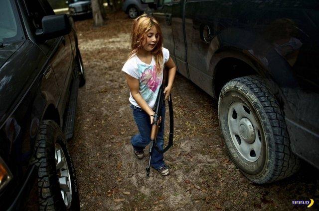 Подготовительный лагерь для детей в лесах Флориды