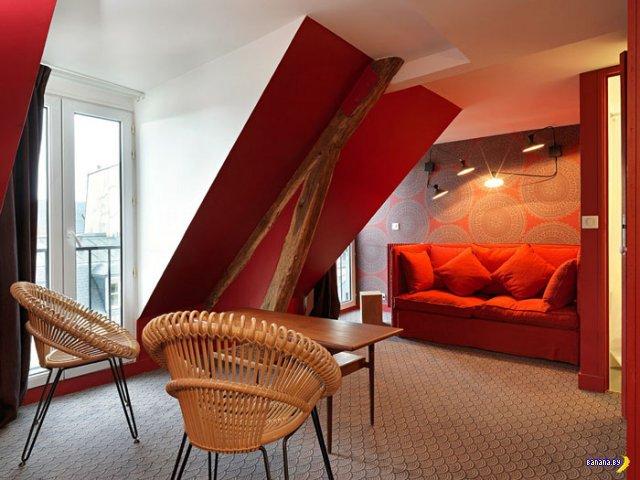 Hotel Paradis в Париже