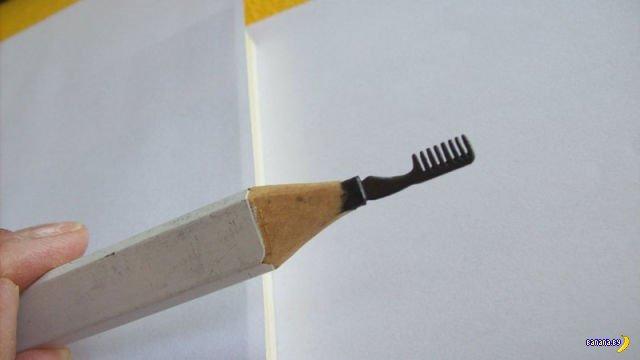 Резьба по карандашам