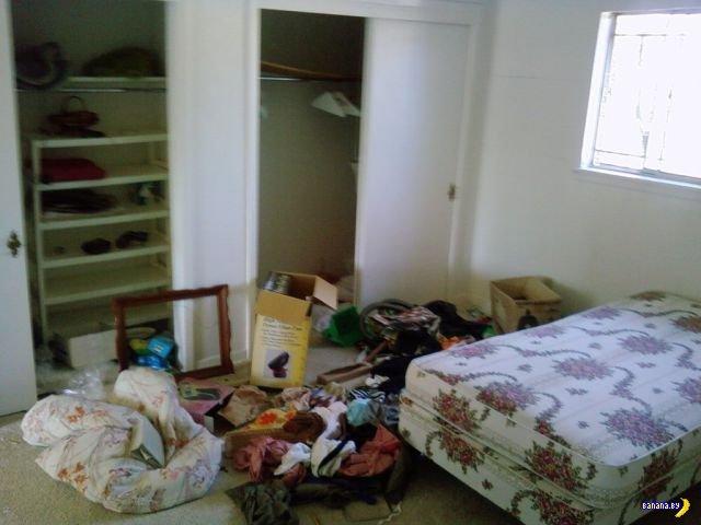 Дети разгромили дом старушке
