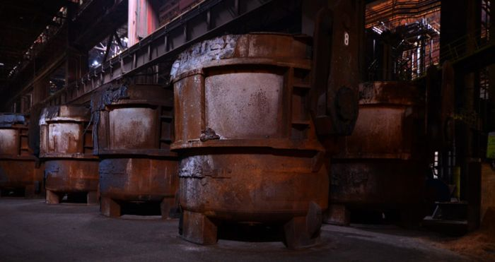 Заброшенный сталелитейный комбинат