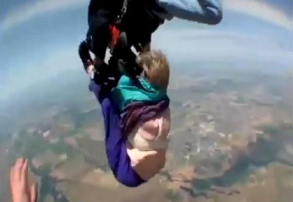 Топ-10 выживших после несчастного случая во время прыжка с парашютом