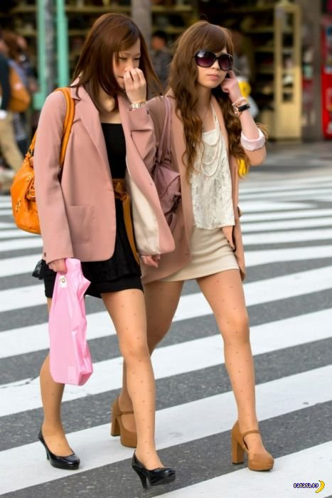 Японские модницы