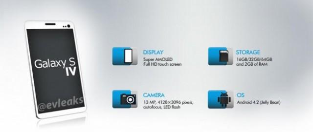 Новые изображения Galaxy S4 появились в сети