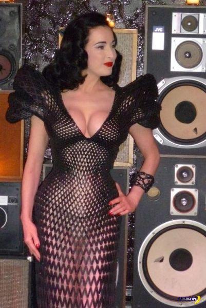 Распечатали платье