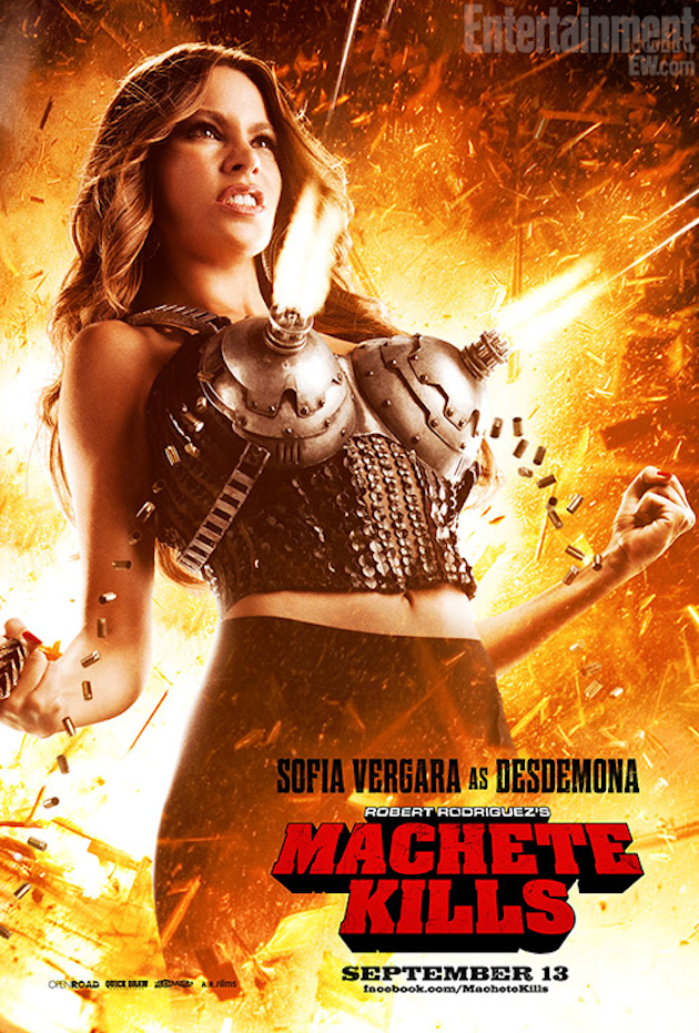 Новый яркий постер Machete Kills