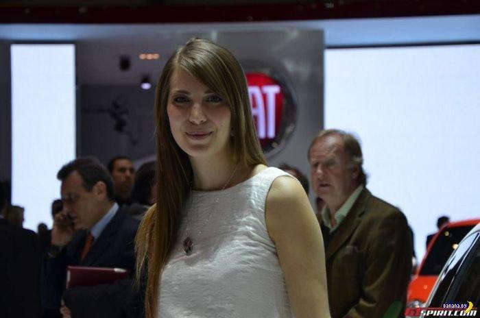 Девушки Женевского Автосалона 2013