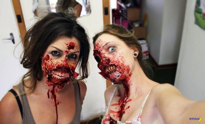 Новый шикарный зомби-мейкап