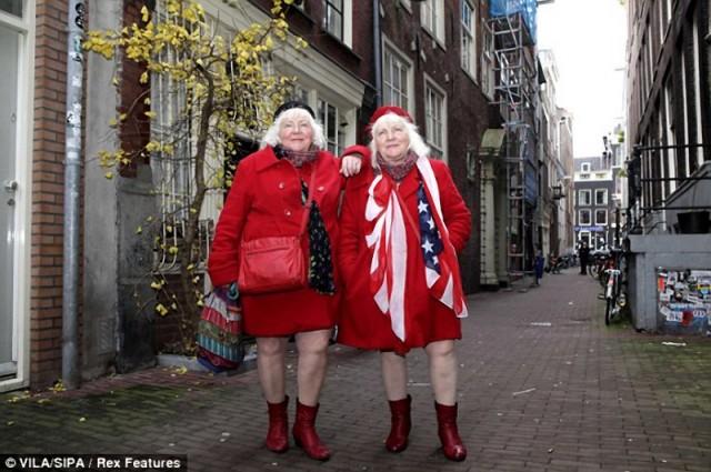 Самые старые путаны Амстердама ушли на пенсию