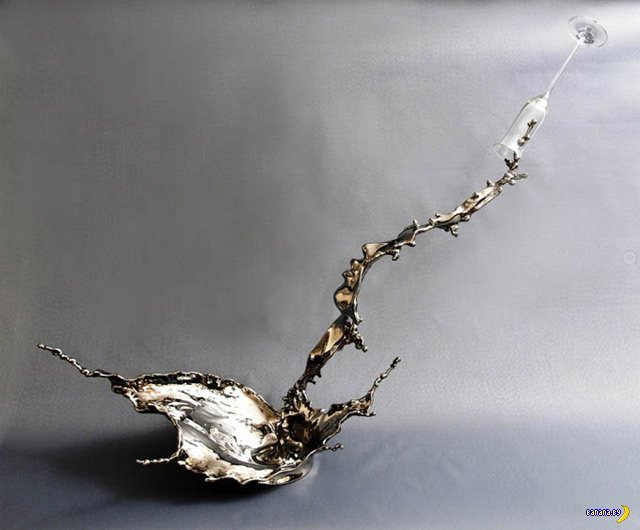 Брызги стали в работах Johnson Tsang