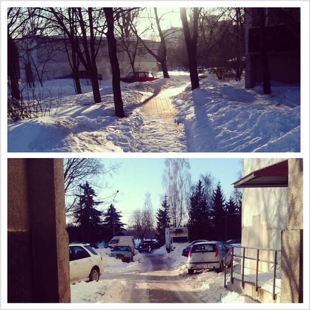 Минск в понедельник: автомобильные пробки и полупустое метро