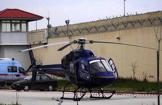 В 73% случаев попытка сбежать из тюрьмы на вертолёте успешна