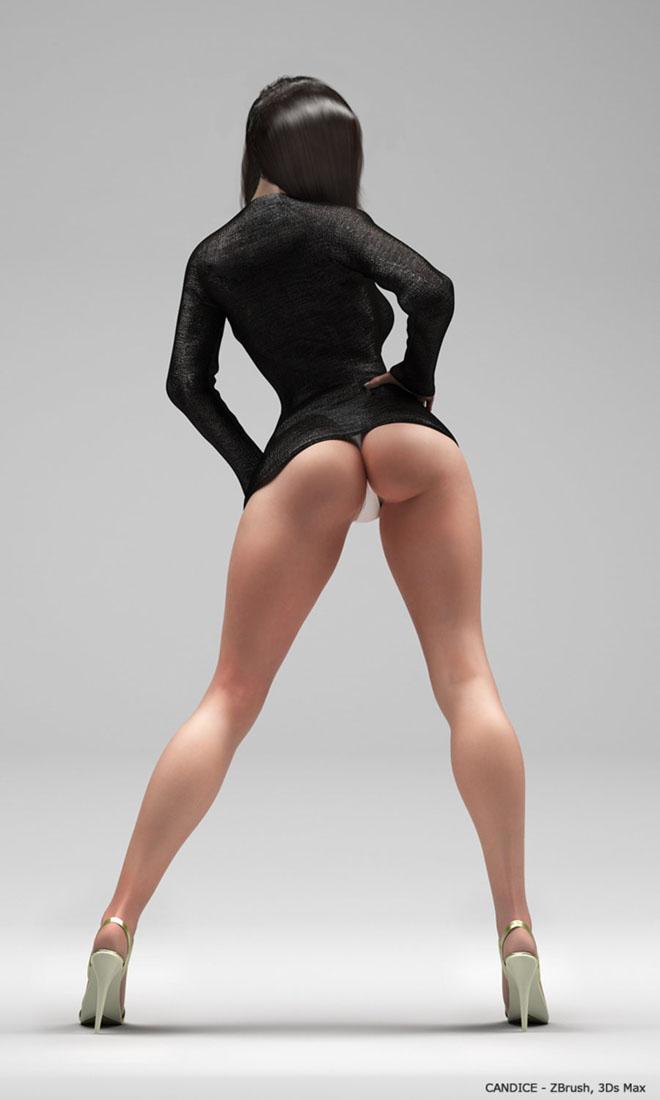 3D девушки