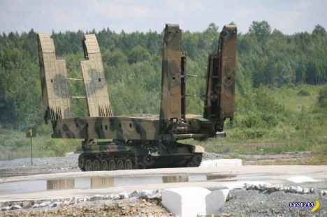 9 военных мобильных переправ