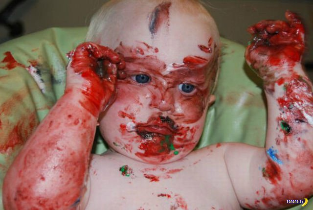 Ребенок и торт: кто кого?
