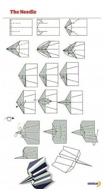 Секретные чертежи бумажного самолетостроения
