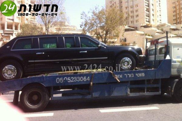 Лимузин Барака Обамы сломался в Израиле