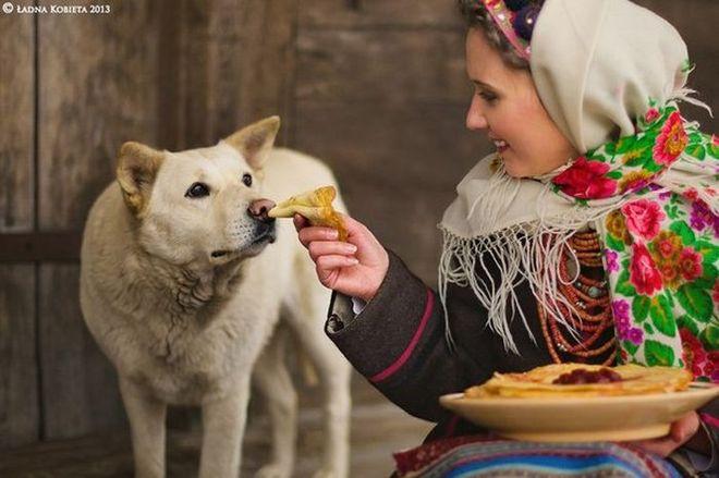 Русская народная красота!