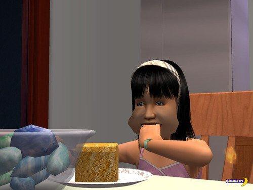 Странные вещи происходят в мире Sims