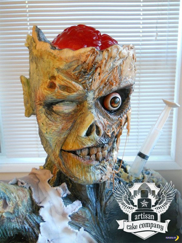 Лучший зомби-торт