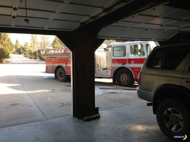 Мужик мечтал о пожарной машине с детства