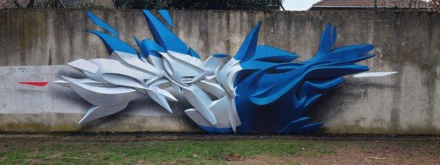 3D граффити от Peeta