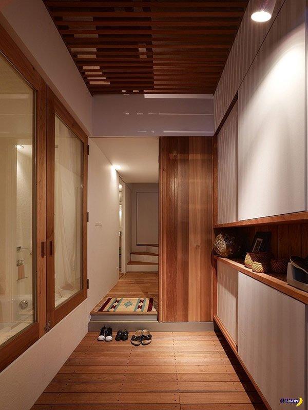 Вщемился - дом в Японии