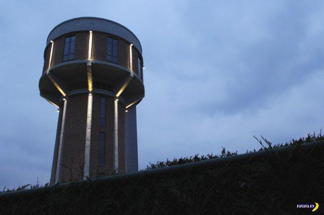 Chateau D'Eau - жизнь в водонапорной башне