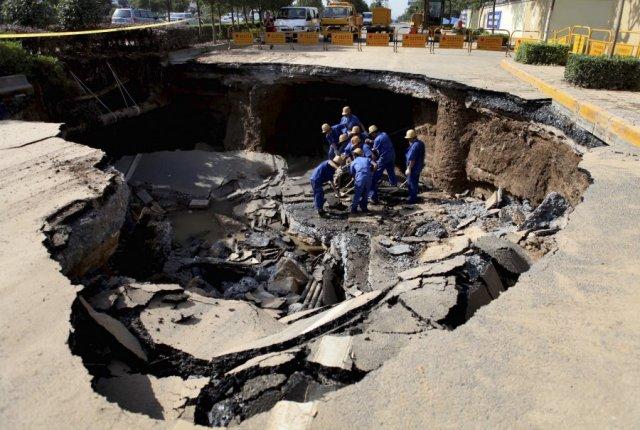 Самые катастрофические обвалы земной поверхности за последние 30 лет