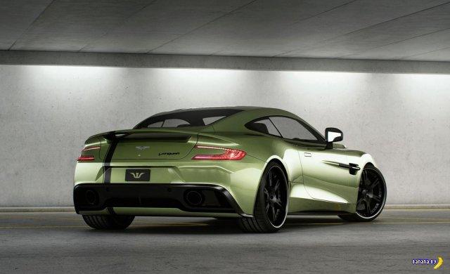 Кастомный Aston Martin Vanquish