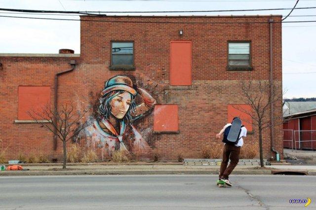 Граффити - вандлалы с краской или искусство?
