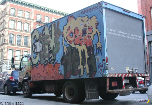 Расписные фургоны