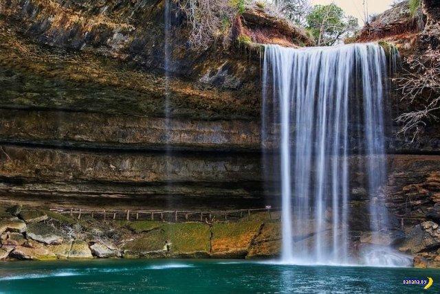 Озеро Гамильтон в Техасе