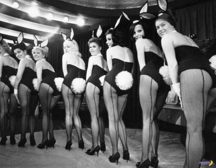 Винтажные девушки-зайчики
