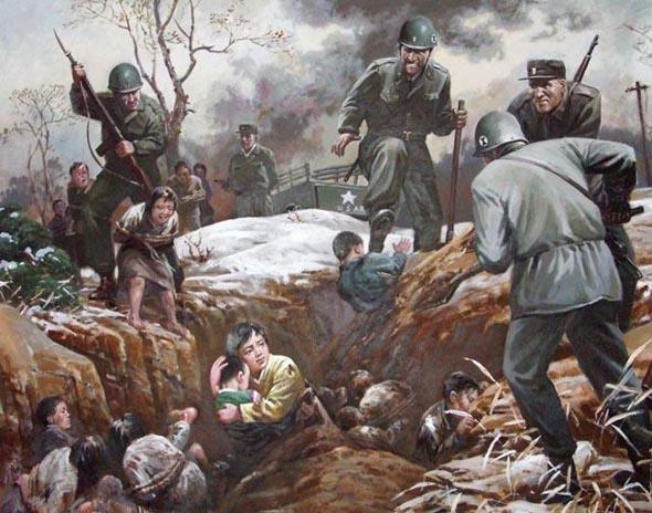 Как жители Северной Кореи видят американцев