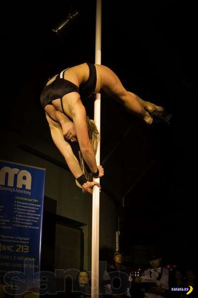 Pole dance. За кулисами