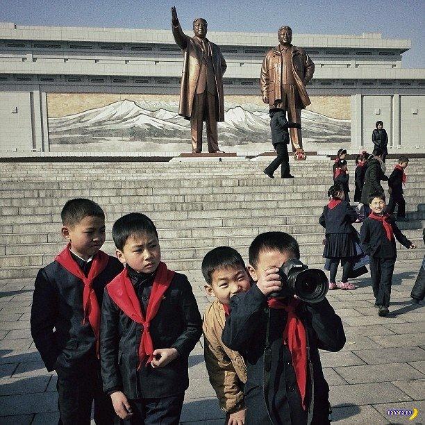 Живые фото из Северной Кореи в Инстаграме