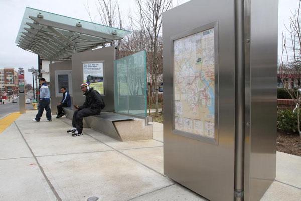 В пригороде Вашингтона поставили автобусную остановку за миллион долларов