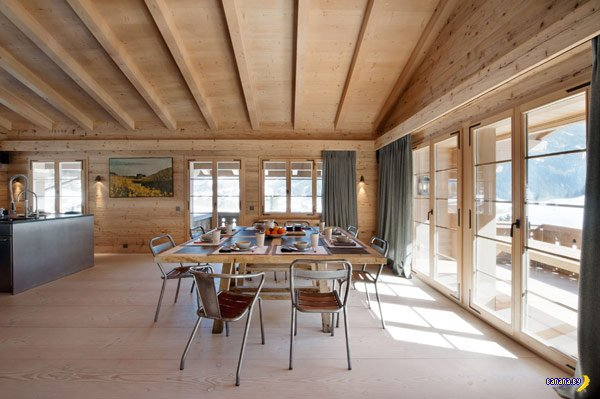 Шале Gstaad в Швейцарии