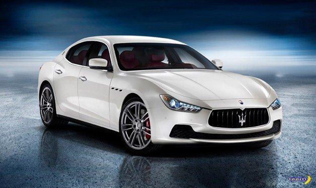 2014 Maserati Ghibli - премьера в Шанхае