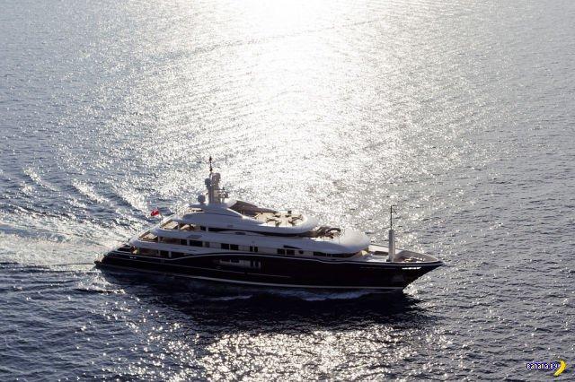 Яхта Numptia
