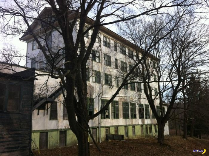 Заброшенный отель Adler