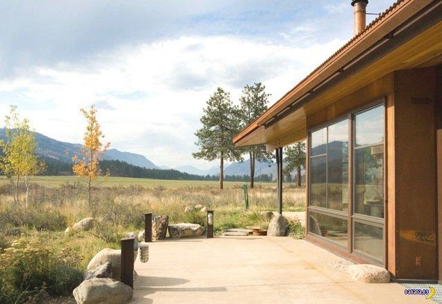 Загородный дом среди сосен
