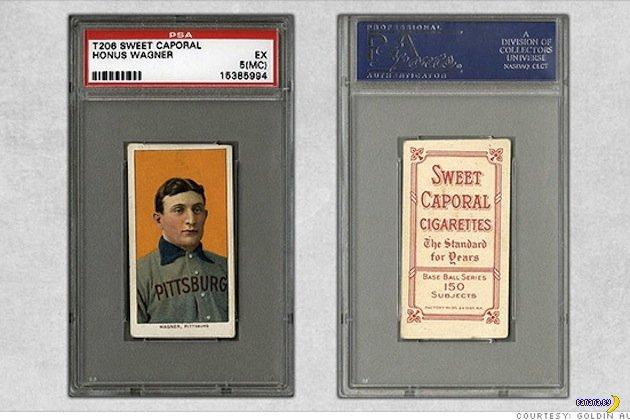 Бейсбольная карточка за $2,105,770
