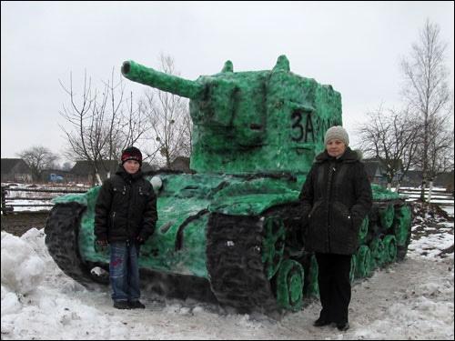 Снежные танки