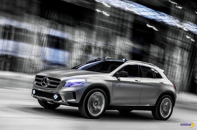 Утечка фотографий Mercedes-Benz GLA