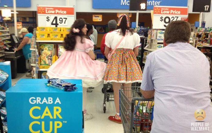 Фрики из супермаркетов США